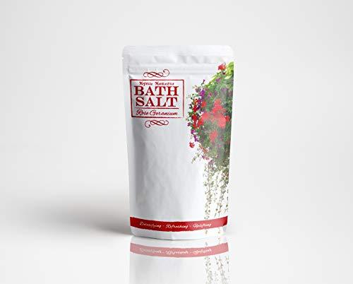Sels de bain - Géranium rose - 500g