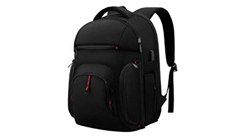 Laptop Backpack 15.6 Inch TSA Travel Business Laptop Backpack with USB Charging Port Water Resistant College School Computer Rucksack Daypack