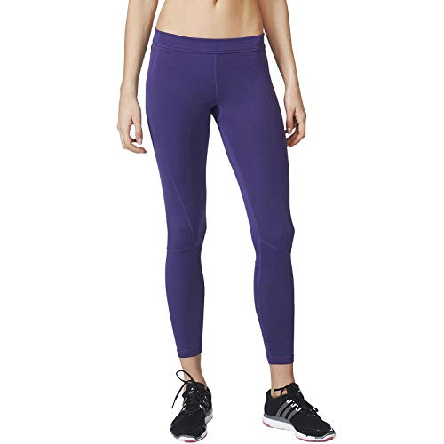Adidas TF Long TGT dameslegging sport gym fitness & yoga – violet
