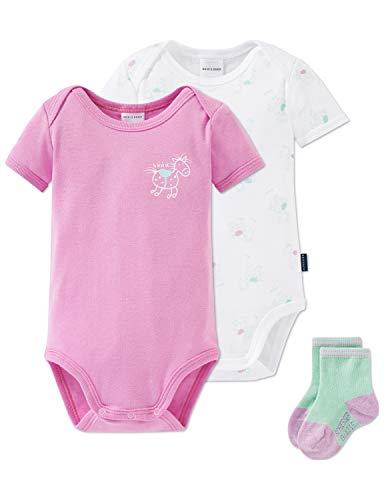 Schiesser Baby-Mädchen Multi-Pack Cupcakes Unterwäsche-Set, Mehrfarbig (Sortiert 1 901), 86 (Herstellergröße: 086) (3er