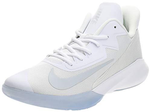 Nike Precision IV, Gymnastics Shoe Unisex Adulto, Blanco/Pure Platinum-Clear, 44 EU