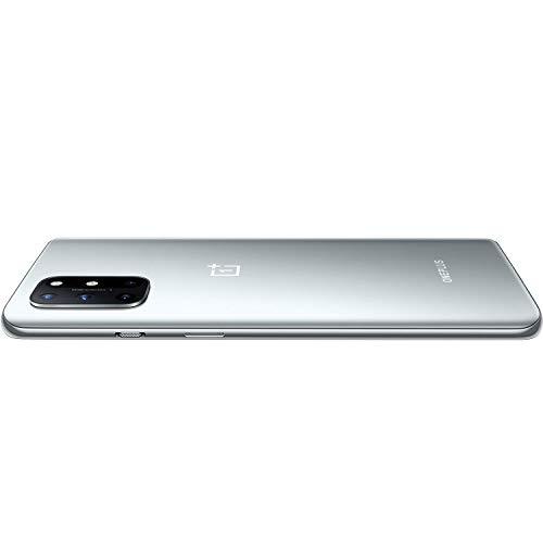 (Renewed) OnePlus 8T 5G (Lunar Silver, 12GB RAM, 256GB Storage)