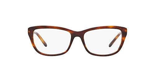 Ralph Lauren 0RL6189 Monturas de gafas, Striped Havana, 52 para Mujer