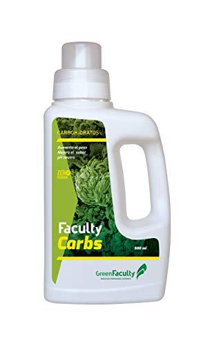GreenFaculty - Carbs - Engorda Revienta Cogollos. Fertilizante Abono Cogollador. Última Fase Floración. Potenciador de Sabor y Mejora del Aroma. 500 mL