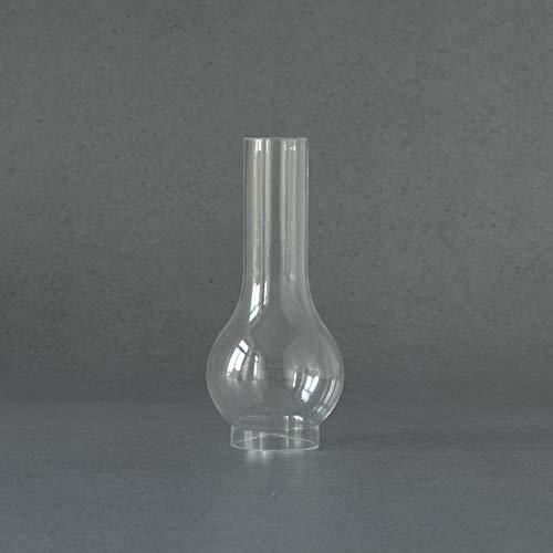 6,6 cm Zylinderglas Wiener Glas klar, für Petroleumlampe, Zylinder Ersatzglas, Glaszylinder, Höhe 26 cm