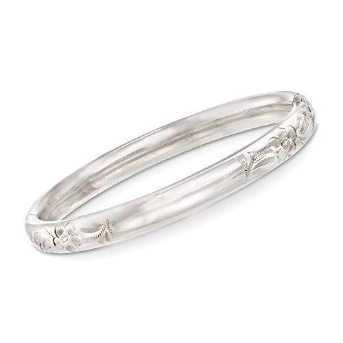 Ross-Simons Baby's Sterling Silver Bangle Bracelet. 4.5 inches