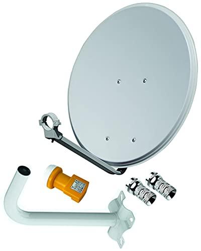 Kit Antena PARABOLICA TELEVES 60CM + LNB TELEVES + Soporte A Pared + Conexiones