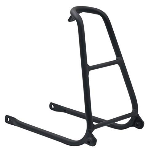 HONYGE LXGANG Bicycle accessories Aluminium Q Type Rear Rack for Brompton Bicycle 148G-Black