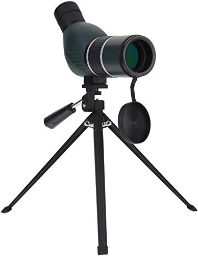 GANE Telescopio Accesorios para Exteriores s Monocular 12-36X Zoom Monocular Monocular de ángulo Recto con trípode para Concierto de observación de Aves (Recto)