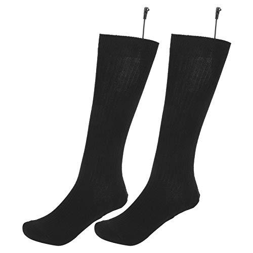 banapoy Calcetines térmicos, Hilo de Fibra de Carbono Nano 12.2-12.99in Calcetines de Invierno, Uso Exterior en Clima frío Negro para Hombres y Mujeres Invierno