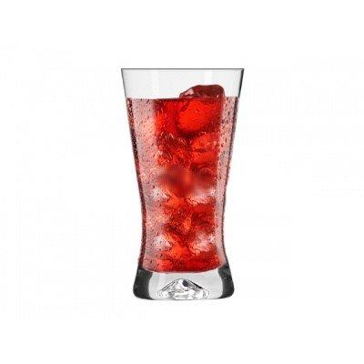 6 x/Soda Glas, Cocktail glas 300 ml, sappen, siropen/