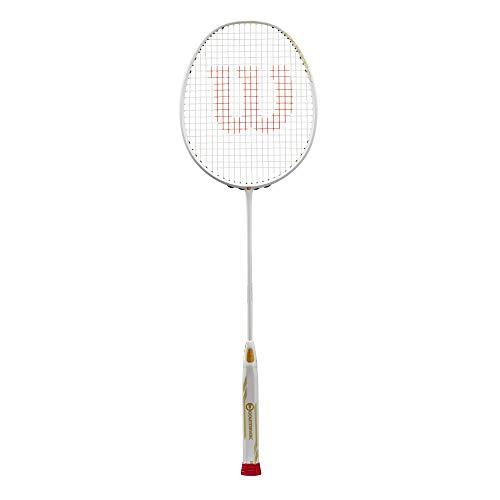 Wilson raquette de badminton, Fierce CX 9000 CV, Blanc/Jaune, WR004010F4