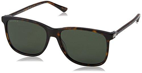 Gucci mannen GG0017S zonnebril, Avana, 57