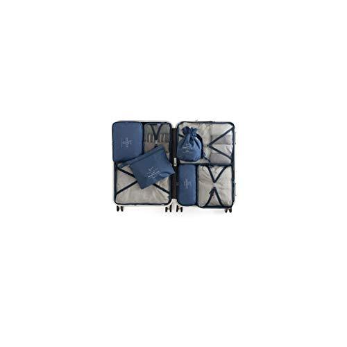 Storage Bag PRIDE S Travel set luggage travel portable Storage decoration (Color : Blue B)