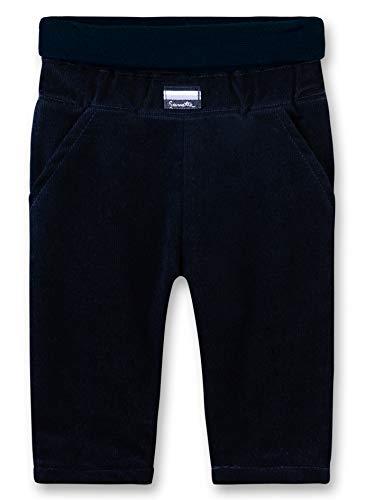 Sanetta Baby-Jungen Pants Hose, Blau (Deep Blue 5993), 80 (Herstellergröße: 080)