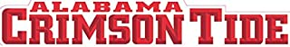 7 Inch University of Alabama Crimson Tide ACT Logo Removable Wall Decal Sticker Art NCAA Home Room Decor 7 by 1 Inches