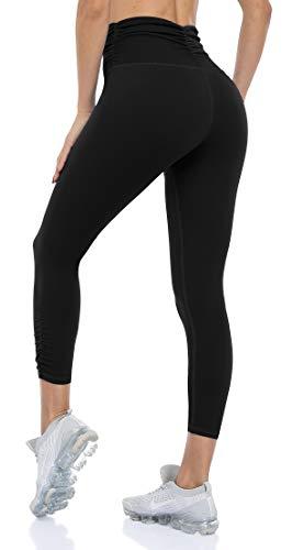 ATTRACO Capri-Leggings für Damen, hohe...