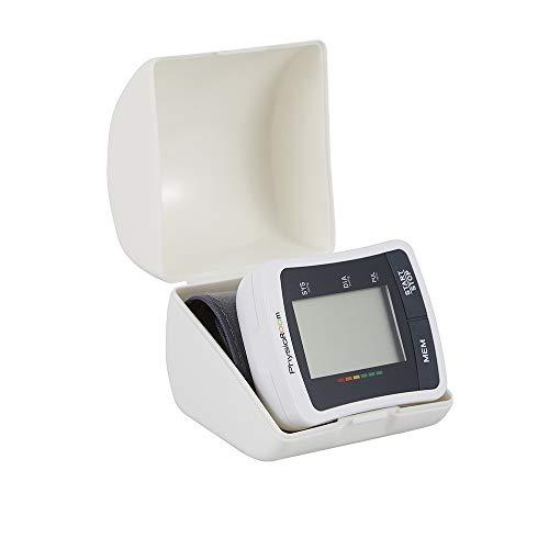 Physioroom Automatisches Blutdruckmessgerät - Verstellbare Oberarmmanschette mit Herzfrequenzmonitor für Häusliche Anwendung - Große Digitale LCD Anzeige - Leichtgewichtig