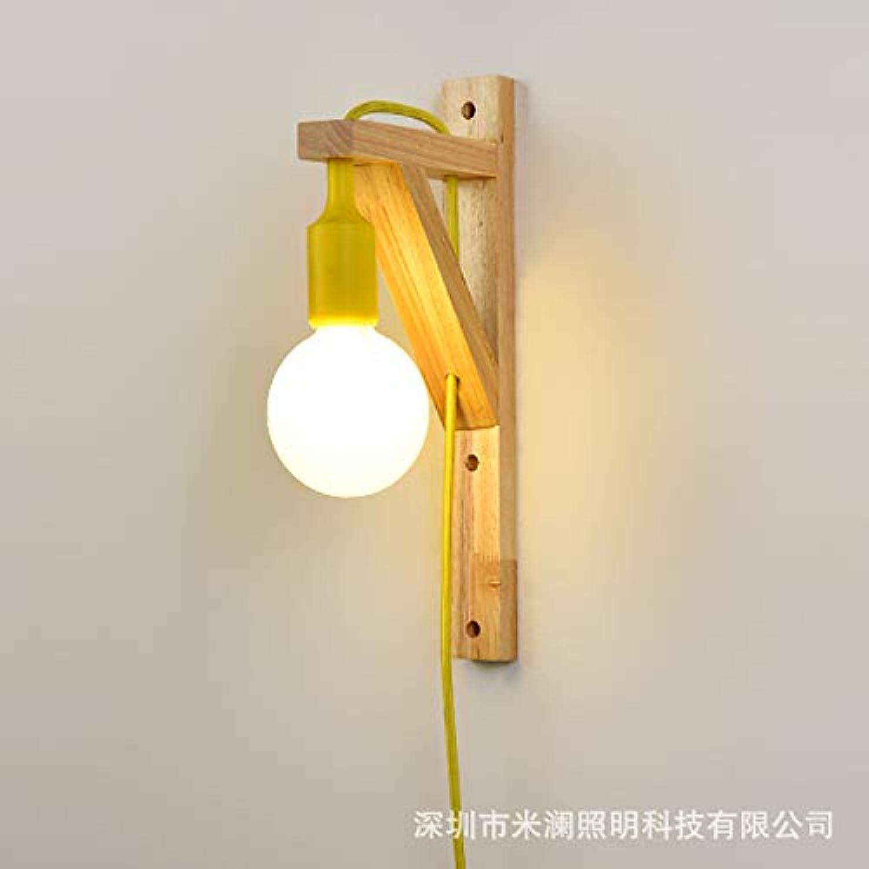StiefelU LED Leiter der Bed light meter Welt Schlafzimmer Wand lampe Nachttischlampe Arbeitszimmer gang Holz, 40  23  15 CM WEISS), 5-Watt-LED-warmes Licht