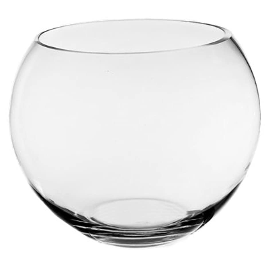 CYS Glass Bubble Bowl. Hand Blown Glass, Not Machine Made (Pack of 18 pcs)