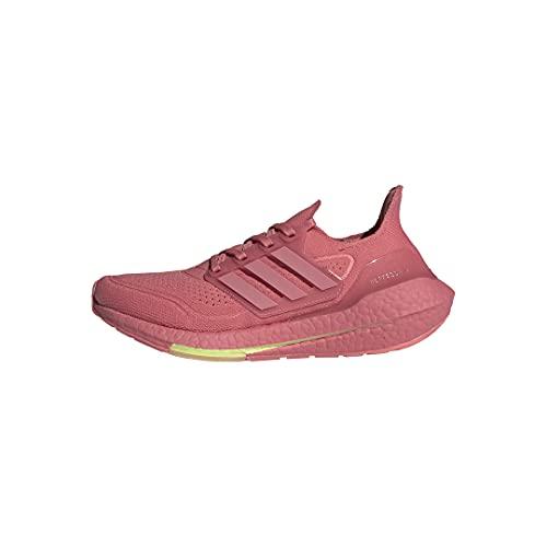 adidas Women's Ultraboost 21 Running Shoes, Hazy Rose/Hazy Rose/Ash Pearl, 9