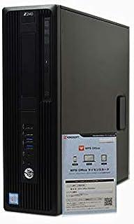 デスクトップパソコン 【Office搭載】 SSD 256GB HP Z240 Workstation 第6世代 Xeon E3 1225 V5 /8GB/256GB/DVDマルチ/NVIDIA Quadro K420/Windows 10