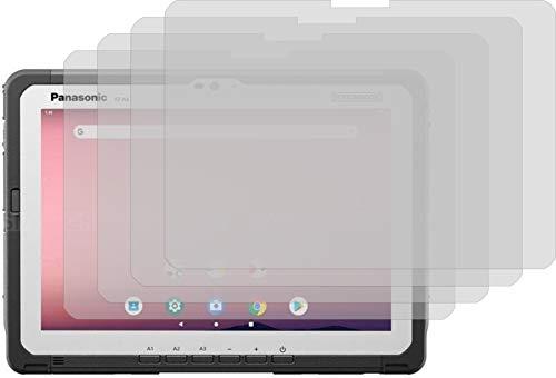 4ProTec I 4X Schutzfolie KLAR passexakt für Panasonic Toughbook A3 - Displayschutzfolie Schutzhülle
