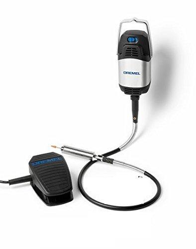 Dremel  Fortiflex 9100-21 (300 Watt) F0139100JA, hoch beanspruchbare biegsame Welle, 21 Zubehöre
