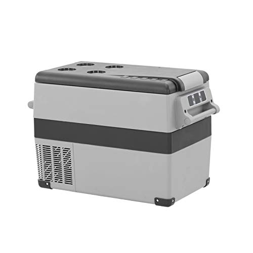 Bintu BT45 Portable Car Fridge 44 Quart Mini Freezer (-4℉-68℉) 12Volt Compact Refrigerator,Road Trip,Vehicle, Truck, Fishing, RV,Outdoor