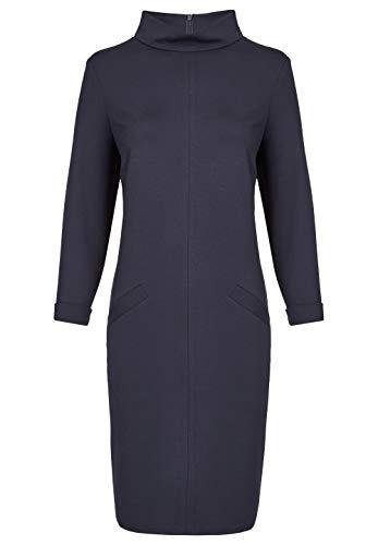 Daniel Hechter Damen Dress Kleid, Blau (Midnight Blue 690), (Herstellergröße: 44)