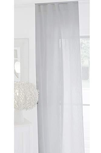 beties Leinenvorhang ca. 135x245 cm natürliches Leinen im Landhausstil in 2 Unifarben (Weiß) 1 Stück Stores, Dekoschal