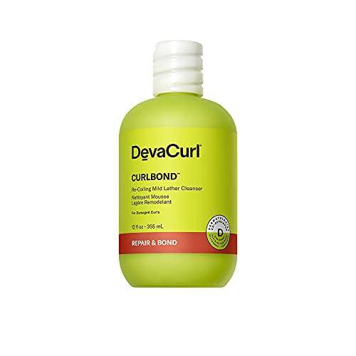 DevaCurl CurlBond Re-Coiling Mild Lather Cleanser,...