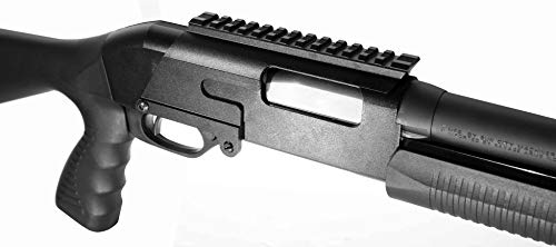 Trinity Savage Arms Stevens 320 Pump Single Rail Mount Base Tactical Hunting Optics Rings Picatinny Weaver Adapter Aluminum Black