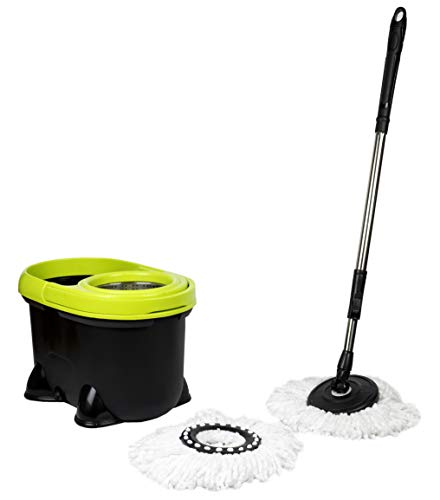 MAXELLPOWER REVOLVING MOP with Reinforced Metal DRAIN Spare Wheel Warranty