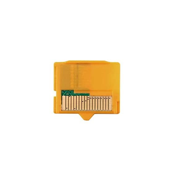 Rodalind yellow 25 x 22 x 2mm(l x w xh) 1pcs micro sd attachment masd-1 camera tf to xd card insert adapter for olympus 1 it is compact and portable tf(micro memory card) to xd camera card adapter prevent your camera and card from damage