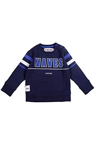 Vingino Mini Jongens Jongens Sweatshirt Trui Pullover Neil Donker Blauw