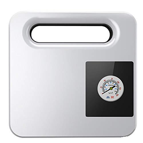 WOGQX Tragbarer AIR-Kompressor Mit Digitalem Voreingestelltem Manometer, LED-Notbeleuchtung Für Autos, Fahrräder Und Andere Schlauchboote,Pointer