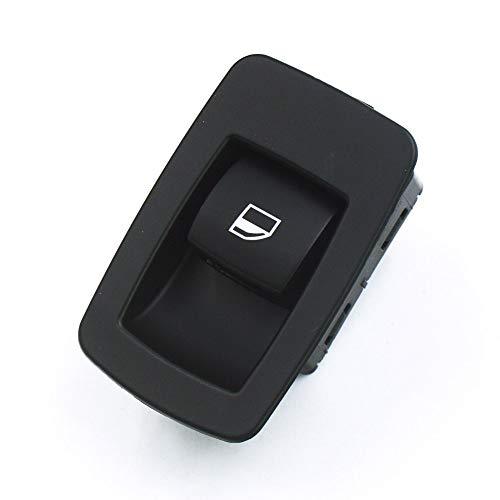 BotóN De Interruptor De Coche Interruptor de la Ventana Cantrol/Ajuste for BMW E53 E71 E72 E83 E90 E91 316i 318i 320i X3 X5 X6 2000-2006 2007 2008 2009 2010-2014 (Color : Black)