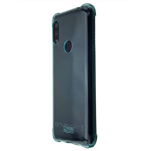 caseroxx TPU-Hülle für Gigaset GS190, Handy Hülle Tasche (TPU-Hülle in blau)