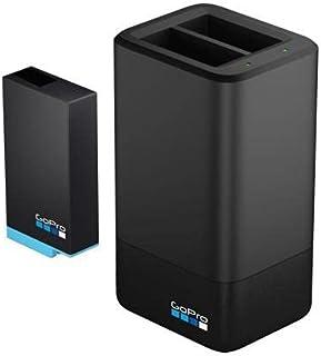 GoPro Max podwójna ładowarka do baterii (oficjalne akcesoria), czarna