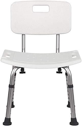 seiyishi お風呂 椅子 シャワーチェア 高さ6段階 バスチェア 背もたれ 背付き 風呂いす 高さ調整 伸縮式 アルミ製 軽量 浴用 介護用品 入浴補助 SY-KXZ-08