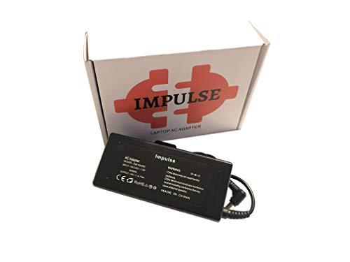 Impulse - Cargador para Acer Aspire 1, 3, 5, 6, A315, A515, A517, A615, E15, E15, E17, ES15, ES17, ES15, ES17, ES1, E5, F15, F5, V14, V15, V17 y V3 (90 y V3) 5 V7. 5750G 7750G E5-575G TravelMate 5760
