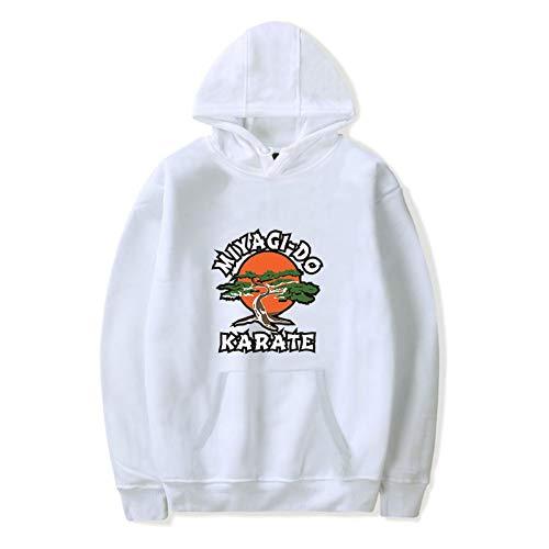 JDSWAN Cobra Kai Kapuzenpullover Unisex Hoodie Miyagi-DO Karate Gedruckt Lange Ärmel Hoodies Pulli Sweatshirt mit Kapuze Pullover Sweatjacke für Damen Herren