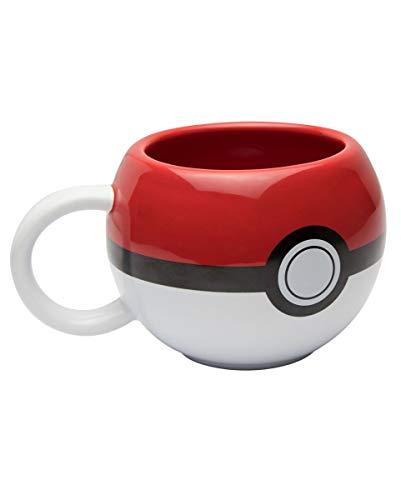 Horror-Shop Original Pokéball Kaffeetasse als Geschenkartikel für Pokémon Fans