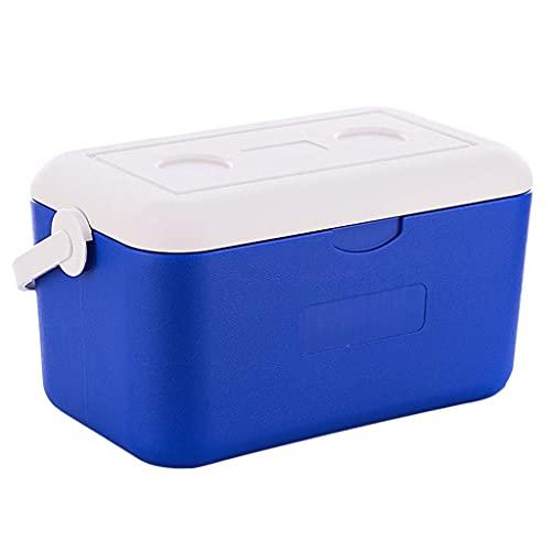 N\C Kleiner tragbarer Kühlschrank, Outdoor-Auto-Isolierbox, leicht zu tragen mit Anti-Deformations-Design für langfristige Isolierung 24 Stunden 10L LKWK
