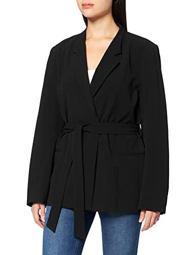 Naf Naf EUNICA V1 Blazer, Negro, 34 para Mujer