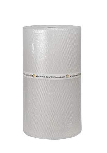1 x Luftpolsterfolie 1,0 x 100 m Stärke: 60 my Noppenfolie Blisterfolie Knallfolie - Sets zwischen 1 und 5 Rollen