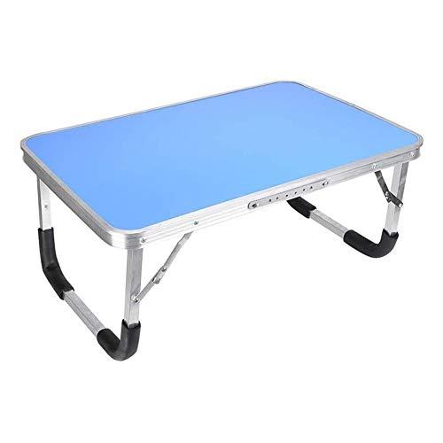 HMBB Tabla portátil for la cama, Escritorios for la falda Cama bandejas for comer, Bandeja de ordenador for cama, cama del escritorio for el ordenador portátil y escritura, de aluminio plegable portát