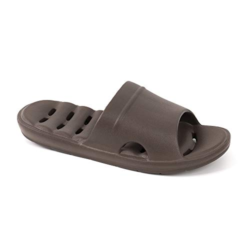LUFFYMOMO Women Men Shower Slippers