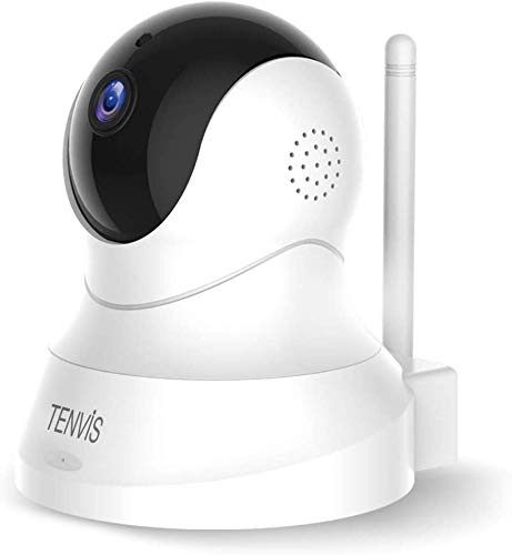 Pet Camera - TENVIS 1080P Pet Camera with Phone App Speaker, Wireless Monitor Camera with Motion Detection, 2 Way Audio, Night Vision, Security Camera with Android & iOS APP